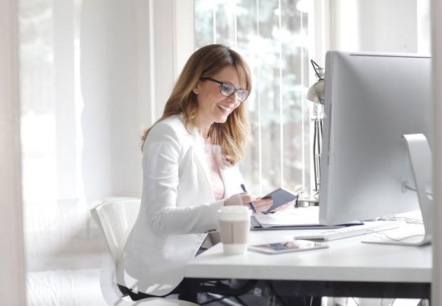 mulher de negócios, executiva, empreendedora, líder (Foto: Thinkstock)