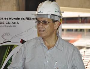 Mauricio Guimarães, secretário da Secopa-MT (Foto: Robson Boamorte/GLOBOESPORTE.COM)