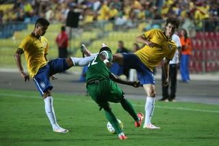 Brasil x Nigéria seleção olímpica (Foto: Agência Estado)
