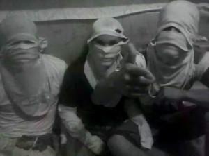 Presos ameaçam agentes penitenciários no Acre (Foto: Reprodução)
