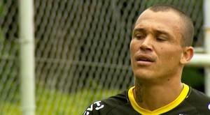 Leandrão, atacante da Ponte Preta (Foto: Reprodução EPTV)