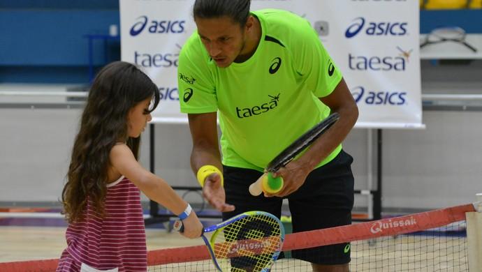 Feijão Tennis Day Mogi das Cruzes (Foto: Cairo Barros)