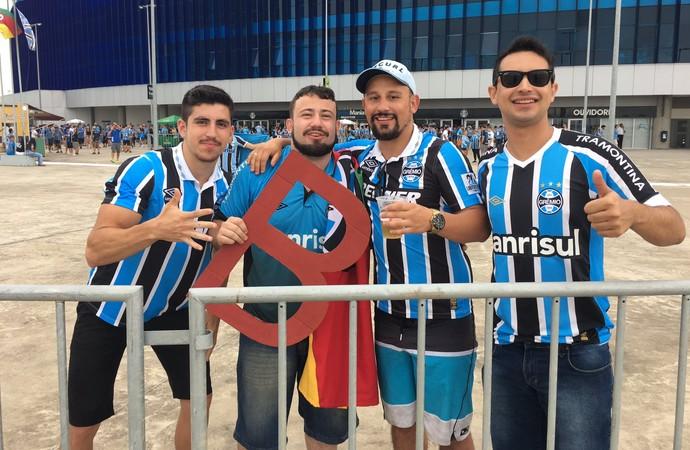 Torcida Grêmio Inter Gre-Nal 412 (Foto: Eduardo Deconto/GloboEsporte.com)