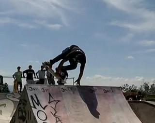 Resende recebeu Campeonato de Skate (Foto: Reprodução RJTV 1ª Edição)