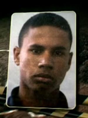Diego Rocha Freitas Campos é suspeito de matar o menino (Foto: Reprodução/TV Globo)