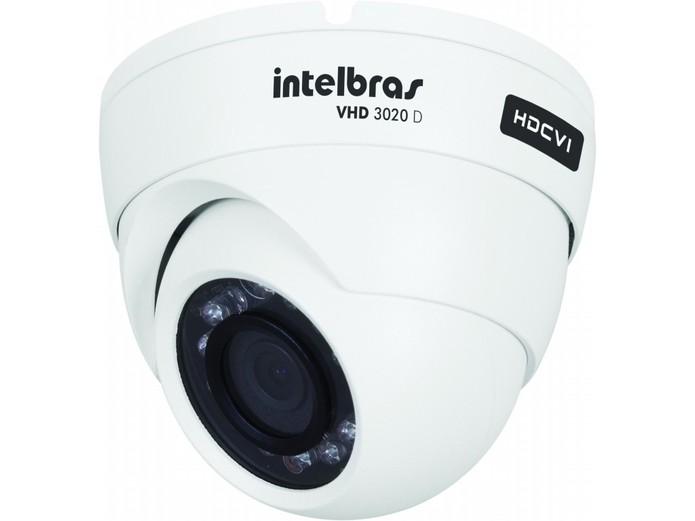 Câmeras Dome são as mais utilizadas (Divulgação/Intelbras)