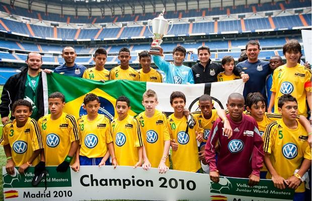 Seleção mirim brasileira já levou a melhor no torneio promovido pela Volks (Foto: Divulgação)