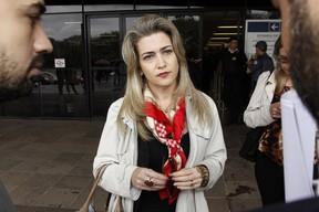 Ana Paula Cortez, advogada de repórter assediada por Biel (Foto: Celso Tavares / EGO)