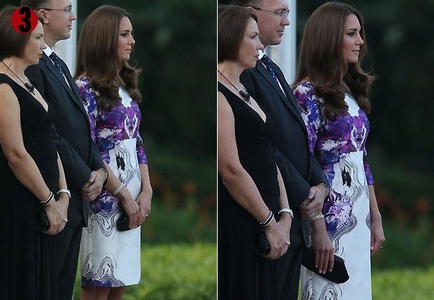 11 de setembro de 2012: Kate Middleton volta a mostrar barriguinha saliente em turnê pela Ásia (Foto: Getty Images)