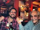 Lúcio Mauro Filho sobre internação do pai: 'Louco para voltar para casa'