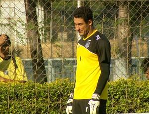 Lauro, goleiro da Ponte Preta (Foto: Reprodução EPTV)