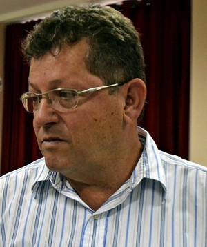 Luiz Carlos Arêas, presidente do duque de caxias (Foto: Vitor Costa)