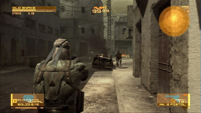 Metal Gear Solid 4: Guns of Patriots. (Foto: Divulgação)