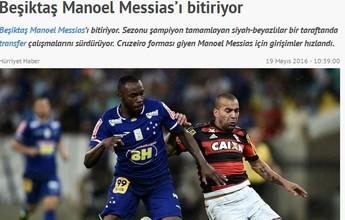 Ainda no DM do Cruzeiro, Manoel recebe consulta de clube da Turquia
