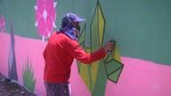 Artista de rua Eduardo Kobra palestra na Unifor