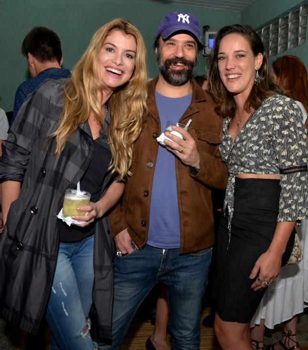 Alinne Moraes, Mauro Lima e Adriana Birolli (Foto: CRISTINA GRANATO/Divulgação)