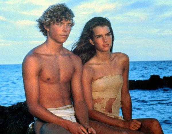 A atriz Brooke Shields em cena de A Lagoa Azul (1980) (Foto: Reprodução)