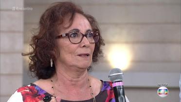 Zezita Matos fala da emoção do reencontro de Piedade com Santo