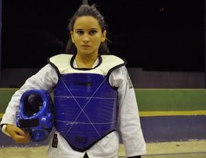 Andressa Coimbra - Taekwondo - Piauí (Foto: Josiel Martins/GLOBOESPORTE.COM)