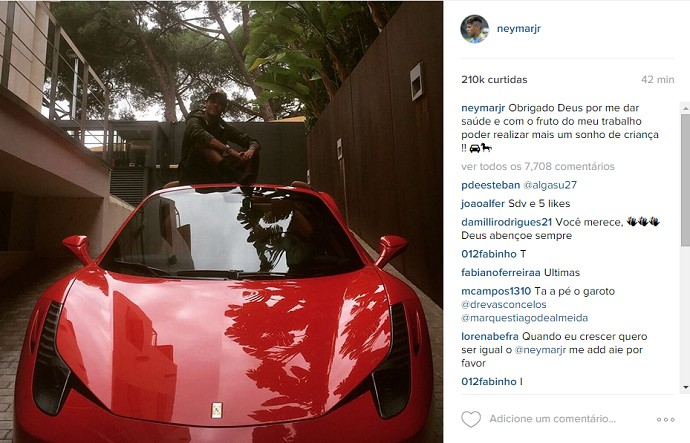 Neymar Ferrari