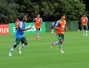 Andre Luiz treino palmeiras (Foto: Marcelo Prado)