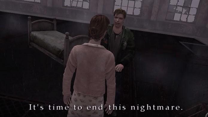 James deve sobreviver para chegar ao final Leave em Silent Hill 2 (Foto: Reprodução/Youtube)