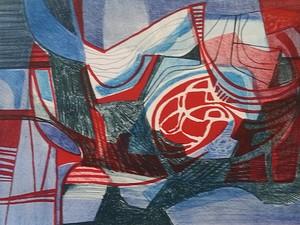 Gravures de Burle Marx vão estar a venda na exposição (Foto: Burle Marx / Reprodução)