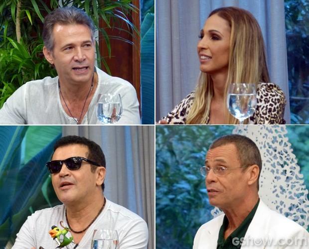 Nelson Freitas e os jurados  (Foto: Foto: Mais Você / TV Globo)