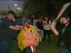Protestos contra Trump tomam ruas de várias cidades dos Estados Unidos