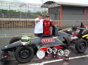 Lucas Villela, piloto sorocabano da Fórmula Jr. (Foto: Divulgação)
