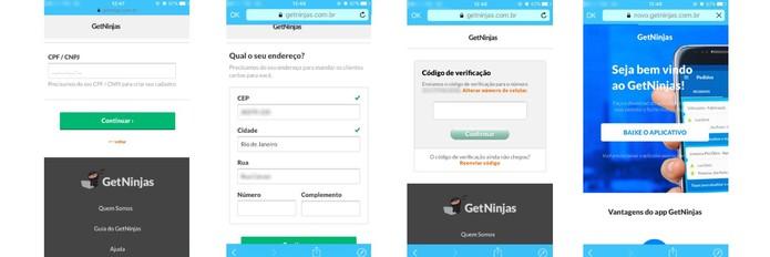 Quando tiver algum cliente para você, o GetNinja avisará (Foto: Reprodução/Camila Peres)