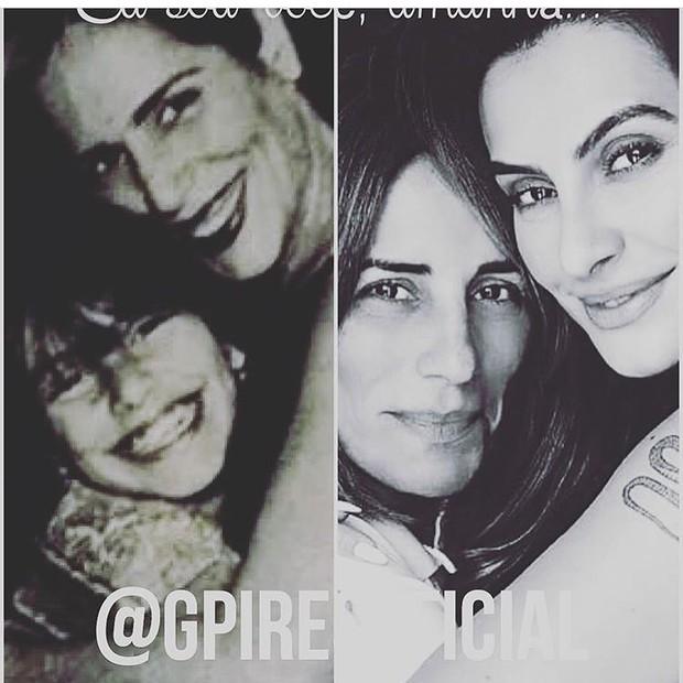 Gloria Pires e Cleo Pires (Foto: Reprodução / Instagram)
