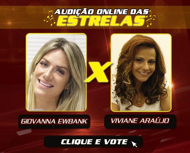 card vivi e gio (Foto: The Voice Brasil/Gshow)