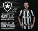 Montillo será apresentado nesta quarta no Salão Nobre de General Severiano