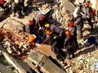 Bombeiros localizam corpo de mulher em desabamento de igreja