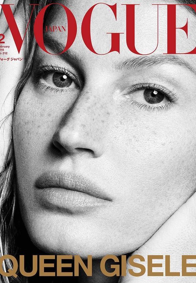 Gisele Bündchen na Vogue Japão (Foto: Reprodução/Instagram)