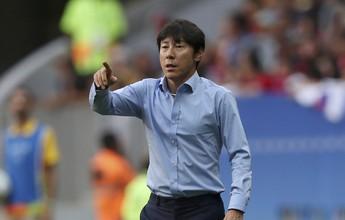 Técnico coreano enaltece equipe e alerta para perigo diante de Honduras