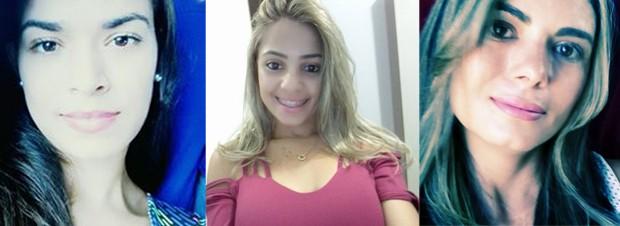 620 Carla, Luane e Valquíria, estudantes, foram vítimas do acidente em Mirante do Paranapanema (Foto: Reprodução/Facebook)
