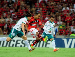 Alecsandro Flamengo x León (Foto: Dhavid Normando/Futura Press)