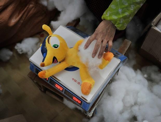 fuleco mascote china TIANCHANG  copa do mundo
