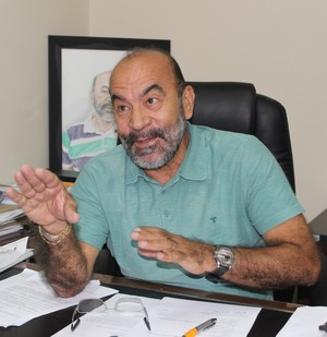 Cesarino Oliveira, presidente da FFP (Foto: Wenner Tito)