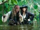 Johnny Depp fica ferido durante filmagens de 'Piratas do Caribe'