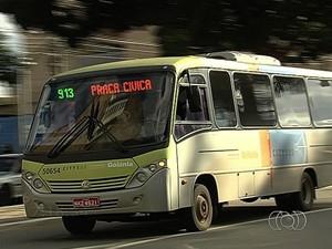 Citybus pode parar de circular no próximo sábado (13), em Goiânia, Goiás (Foto: Reprodução/TV Anhanguera)