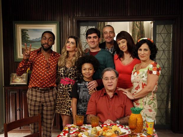 Tony Ramos, Marcelo Adnet e Gloria Pires gravam último episódio de A Grande Família   globo tv 2014