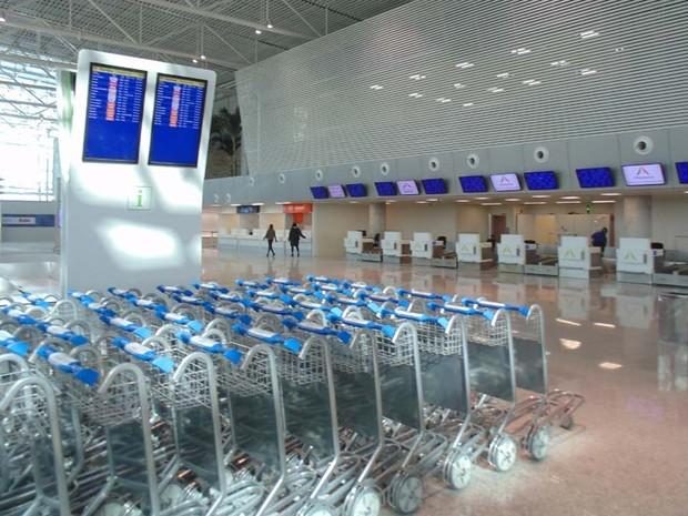 Novo terminal entra em operação neste sábado (31) (Foto: Fred Carvalho/G1)