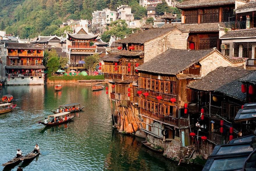 Fenghuang, na China (Foto: Divulgação)