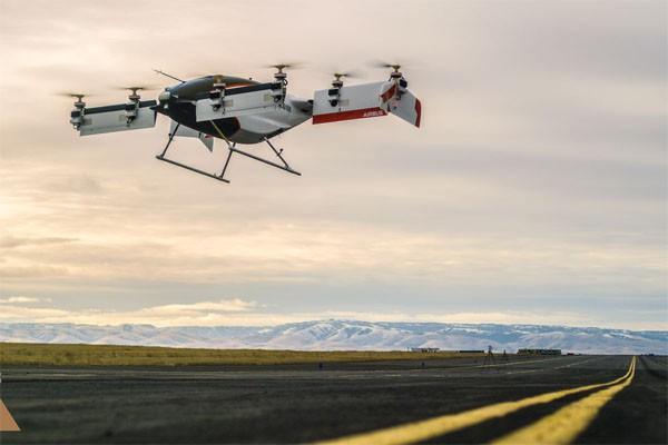 Airbus faz primeiro voo com o protótipo Alpha One (Foto: Divulgação)