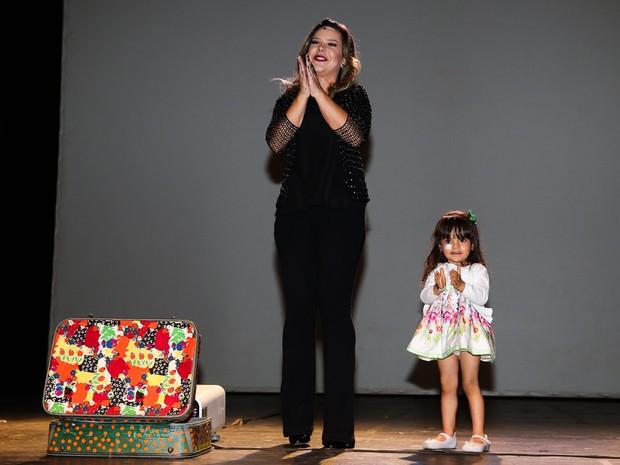 Fernanda Souza se apresenta com peça em São Paulo (Foto: Manuela Scarpa/ Foto Rio News)