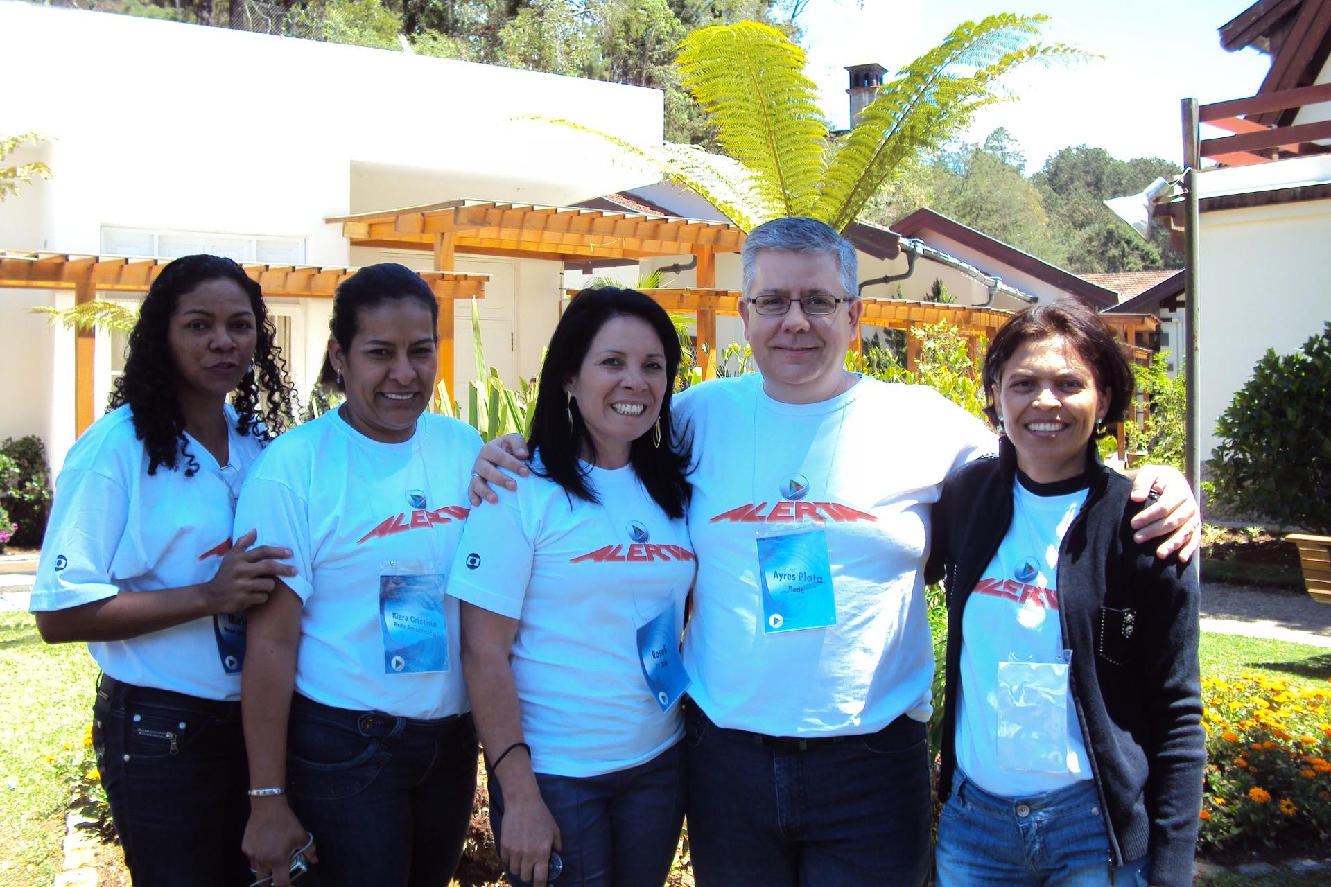 Natália Barbosa participou de muitos treinamentos  (Foto: Arquivo Pessoal)