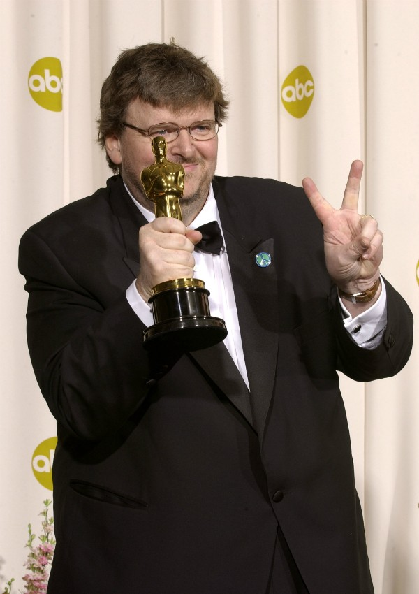 O diretor Michael Moore (Foto: Getty Images)